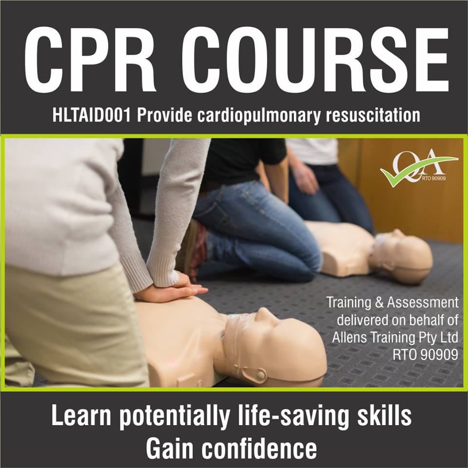 HLTAID001.Provide CPR.Allens Training.Image 3