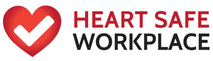 Heart Safe Workplace logo